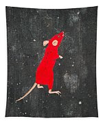 Red Mouse Tapestry