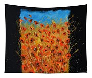 Red Poppies 6771 Tapestry