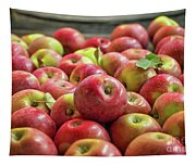 Red Ripe Apples Tapestry