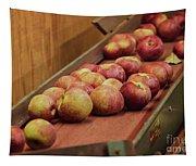 Red Ripe Macintosh Apples Tapestry