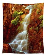 Red River Falls Tapestry