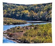 Red River Bend Tapestry