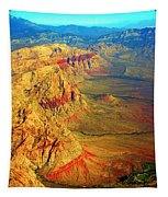Red Rock Canyon Nevada Vertical Image Tapestry
