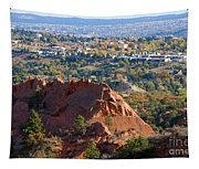 Red Rock Canyon Rock Quarry And Colorado Springs Tapestry