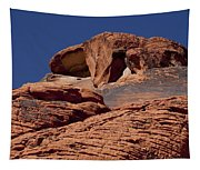 Red Rock Texture 2 Tapestry