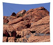 Red Rock Texture Tapestry