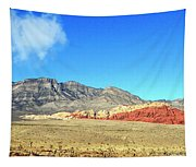 Red Rocks Nevada Panorama Tapestry