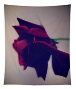 Red Rose Abstract 1 Tapestry
