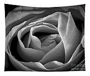 Red Rose In Infrared Tapestry