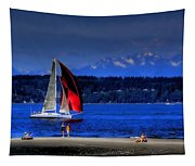 Red Sail Tapestry