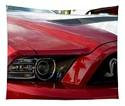 Red Shelby Tapestry