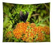 Red Spotted Purple Butterfly Tapestry