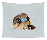 Red-tailed Hawk Portrait Tapestry