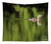 Red Throated Loon Tapestry