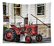 Red Tracktor Tapestry