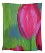 Red Tulips 2 Tapestry