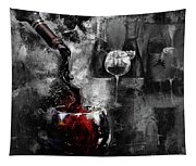Red Wine 01 Tapestry