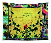Redbird In The Valley Of Beautiful Possibilities Tapestry