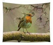 Redbreast Bird Tapestry