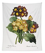 Redoute: Auricula, 1833 Tapestry