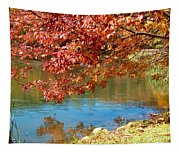 Reflection In The Lake Tapestry