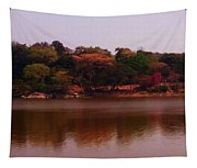 Reflections In A Lake Tapestry