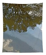 Reflections In A Lake - Poster Edges Tapestry