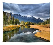 Reflections In Canmore Tapestry