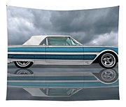 Reflections Of A 1961 Thunderbird Tapestry