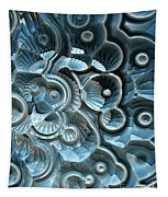 Reflections Of A Fractal Fossil Tapestry