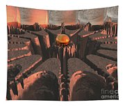 Reflections Of Another Planet Tapestry