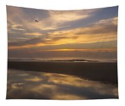Reflections On The Beach Tapestry