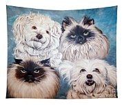 Reigning Cats N Dogs Tapestry