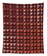 Relief C2 Red Metallic Tapestry
