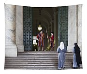 Religious Visit Tapestry