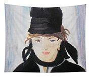 Remake Portrait Of Berthe Morisot Tapestry