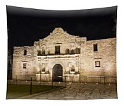 Remembering The Alamo Tapestry