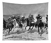 Remington: Dash For Timber Tapestry