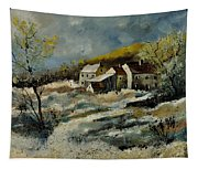 Remote Houses In The Ardennes  Tapestry