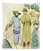 Rendezvous, Outfit And Ulster Overcoat  Tapestry