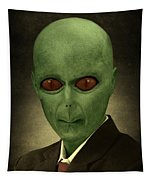 Resident Professor Of Interplanetary Research Area 51 Tapestry