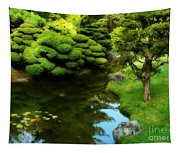 Rest By The Pond Tapestry