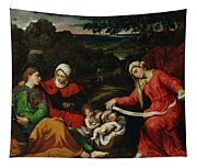 Rest On The Flight Into Egypt Tapestry