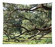 Resting Live Oaks Tapestry