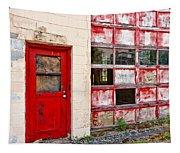 Retired Garage Tapestry