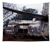 Retired Navy Tapestry