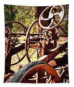 Retired Wheels Tapestry