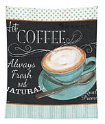 Retro Coffee 1 Tapestry