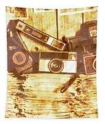 Retro Film Cameras Tapestry