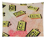 Retro Music Tapes Tapestry